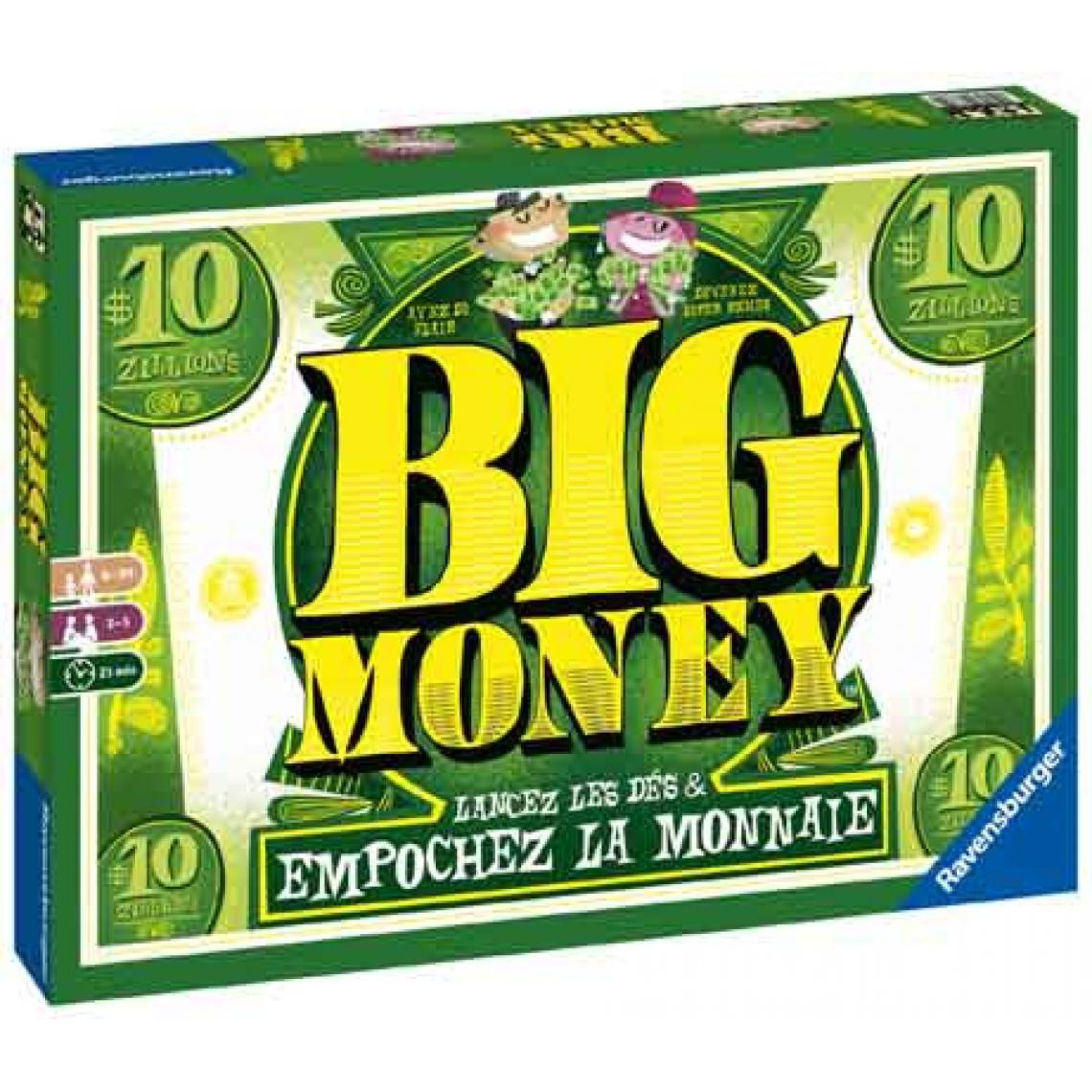 Ravensburger Jeu De Société - Ravensburger - Big Money