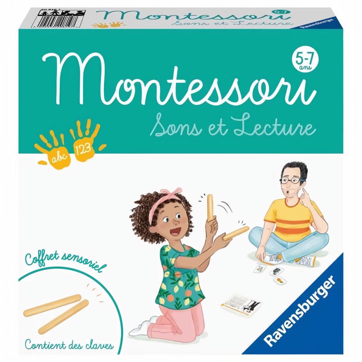 Ravensburger Ravensburger - Montessori - Sons et Lecture - 4005556208197