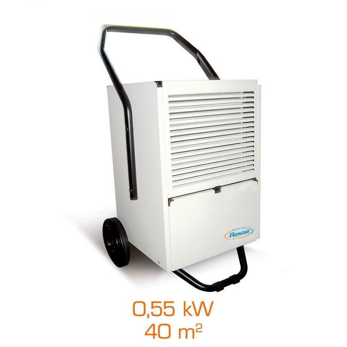 Rexair Deshumidificateur d'air industriel REXAIR QD PRO 30C - 0,55kW - 40m²