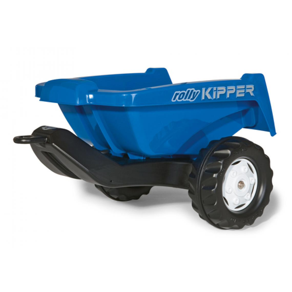Rolly Toys Rolly Toys rollyKipper II Remorque pour tracteur Bleue