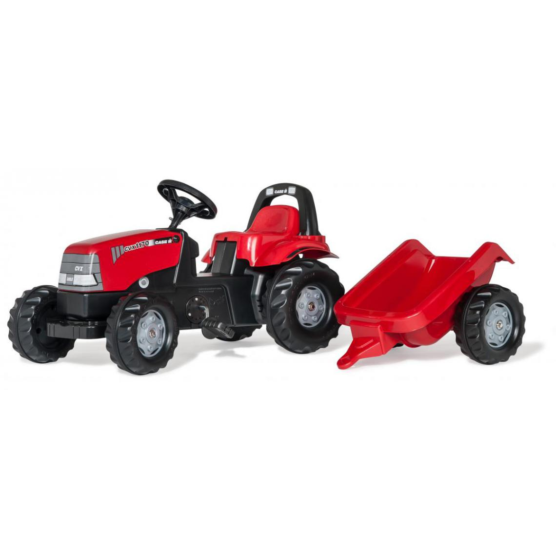 Rolly Toys Rolly Toys Tracteur a Pedales + Remorque rollyKid 1170 CVX
