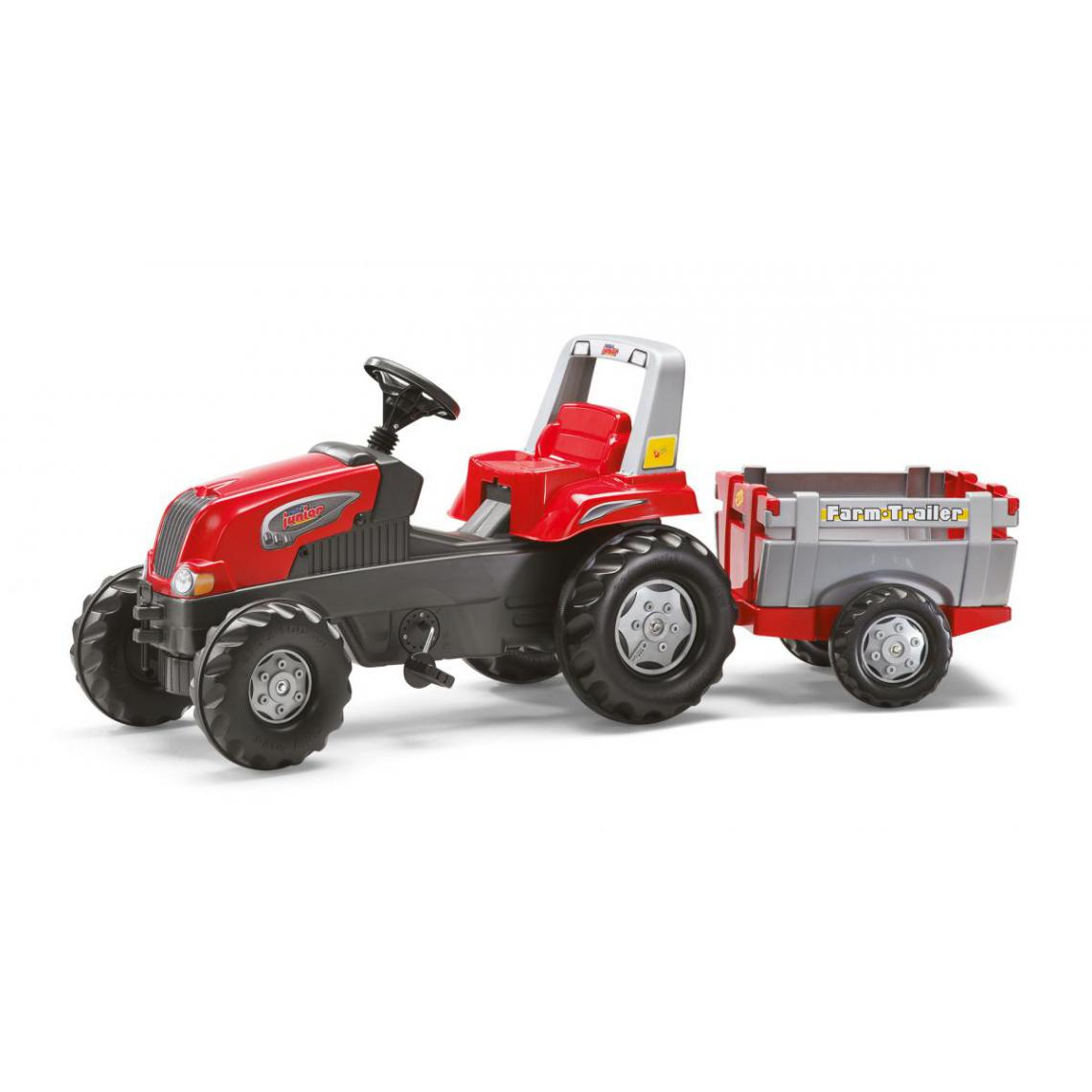 Rolly Toys Rolly Toys Tracteur a Pedales avec remorque rollyJunior RT