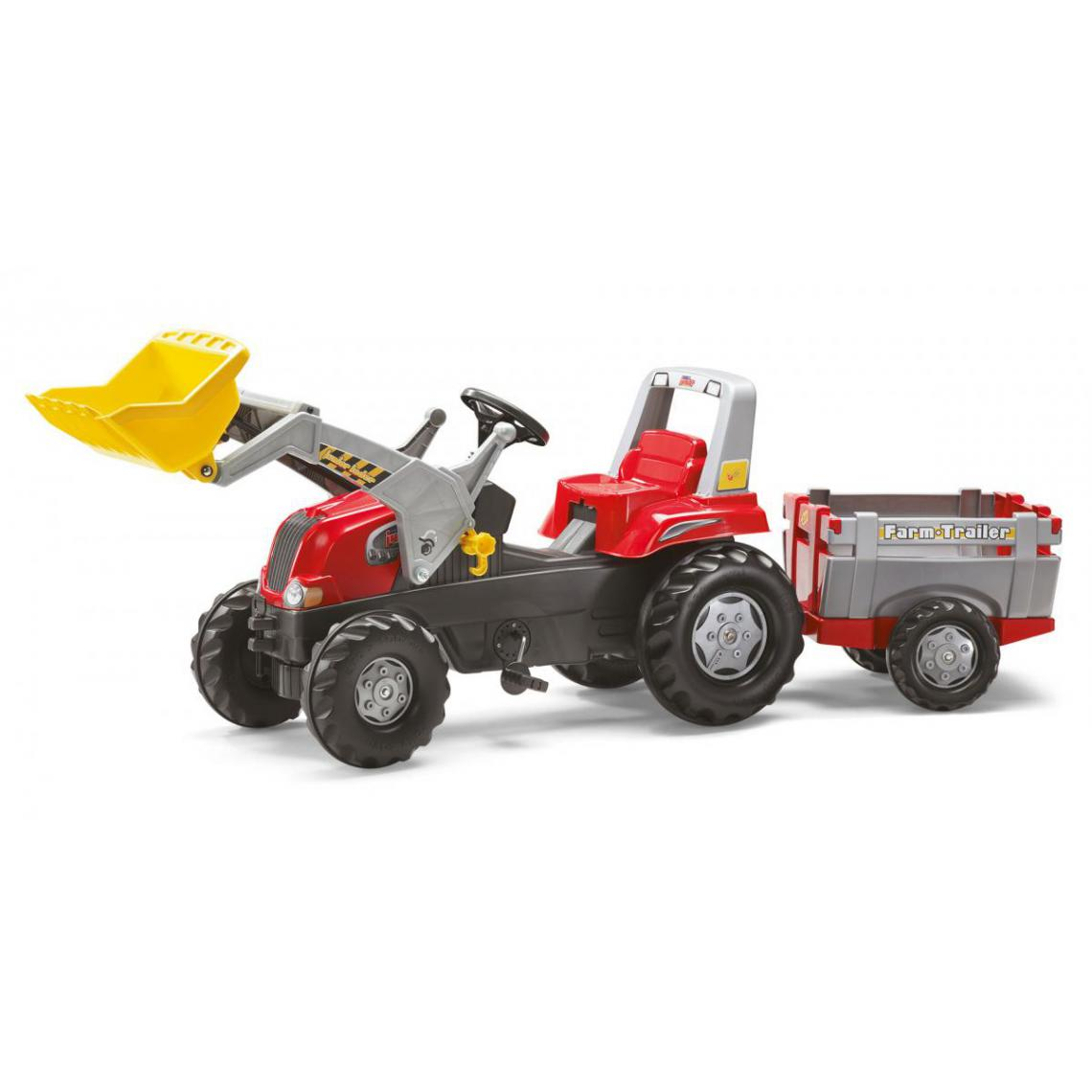 Rolly Toys Rolly Toys Tracteur a Pédales et Remorque rollyJunior RT
