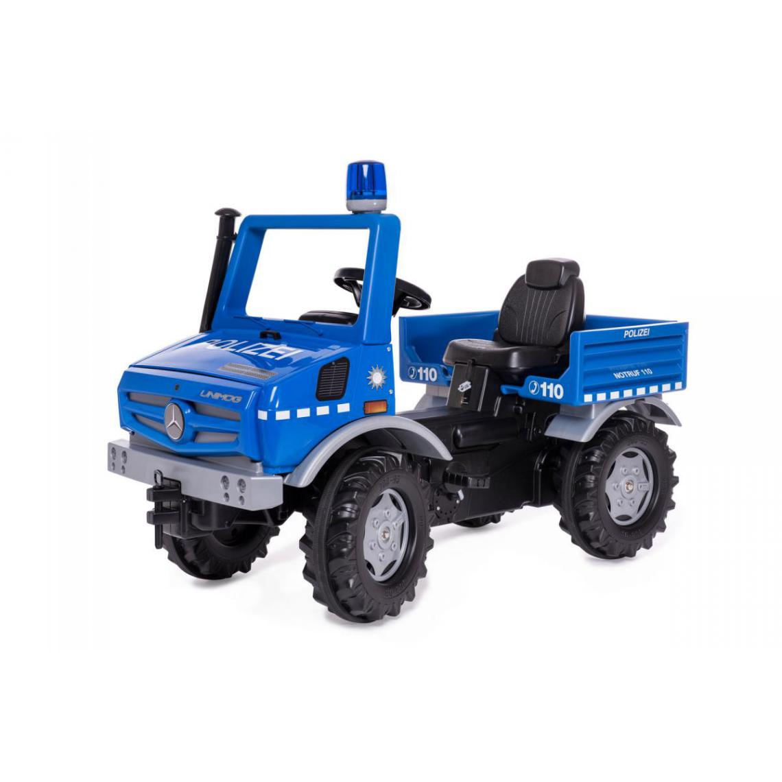 Rolly Toys Rolly Toys Tracteur a pédales police rollyUnimog