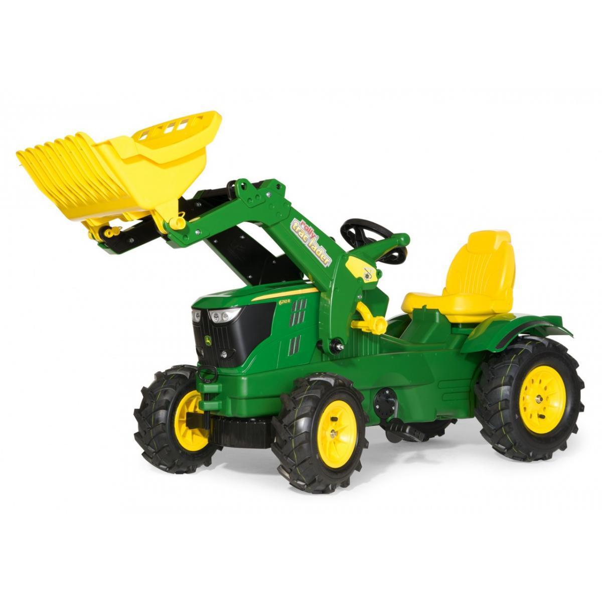 Rolly Toys Rolly Toys Tracteur a pédales rollyFarmtrac John Deere 6210R