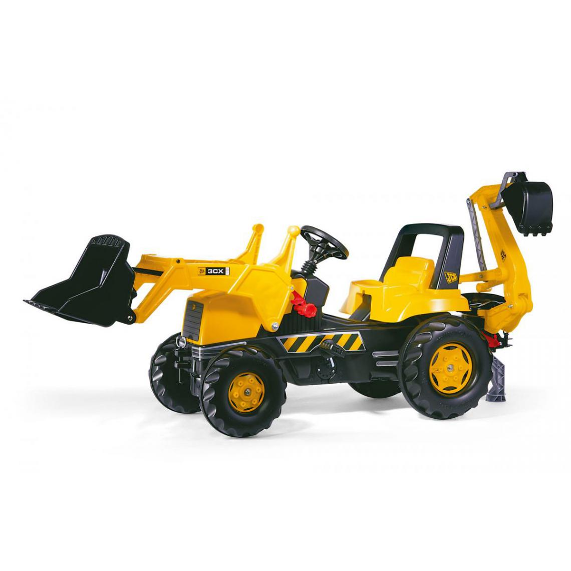 Rolly Toys Rolly Toys Tracteur a pédales rollyJunior JCB