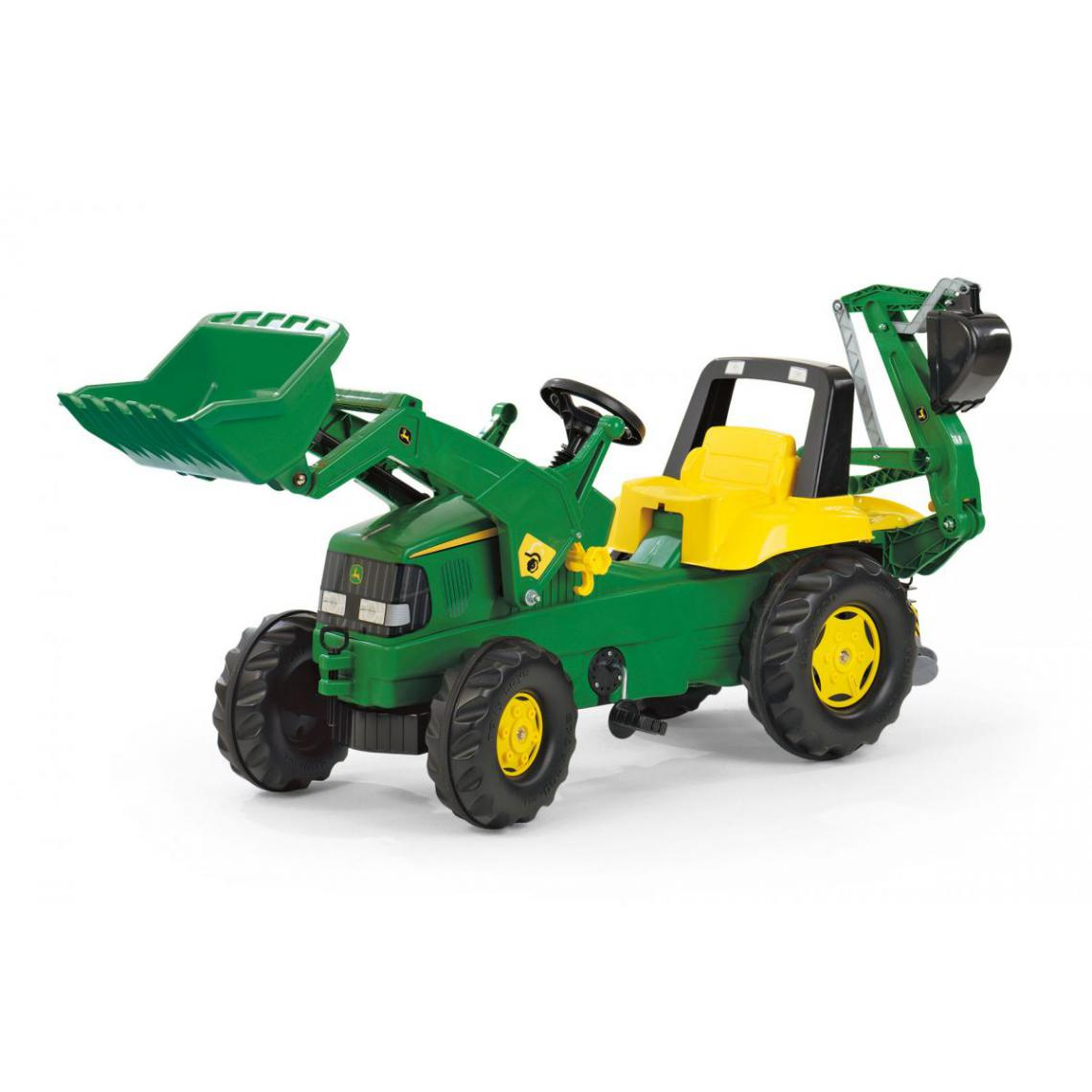 Rolly Toys Rolly Toys Tracteur a pédales rollyJunior John Deere