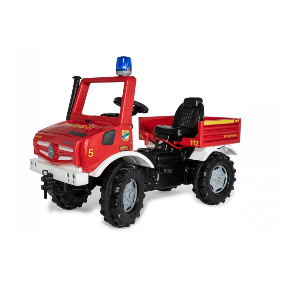 Rolly Toys Rolly Toys Tracteur a Pedales rollyUnimog Pompier