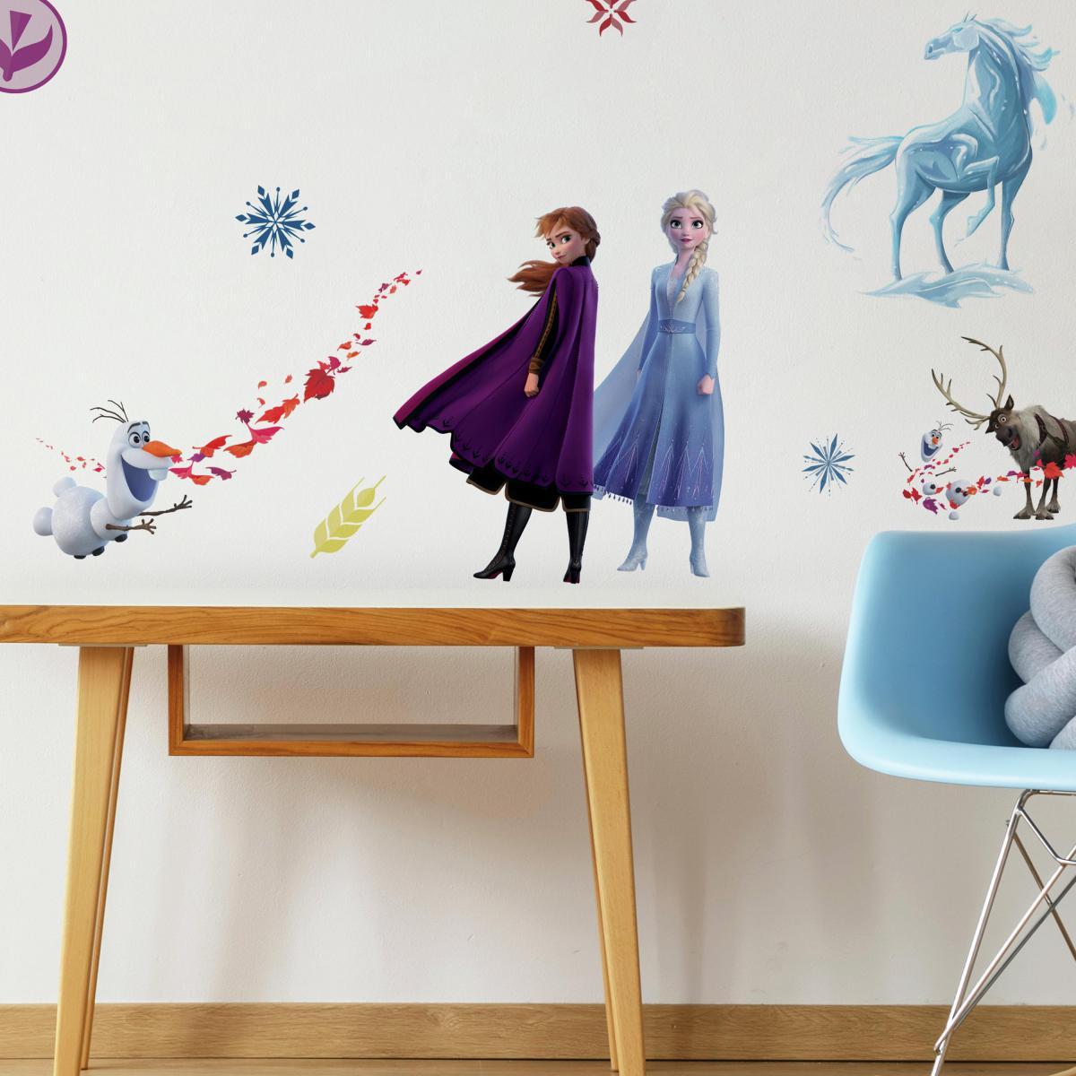 Roommates Stickers mural La Reine des Neiges 2 Disney Frozen