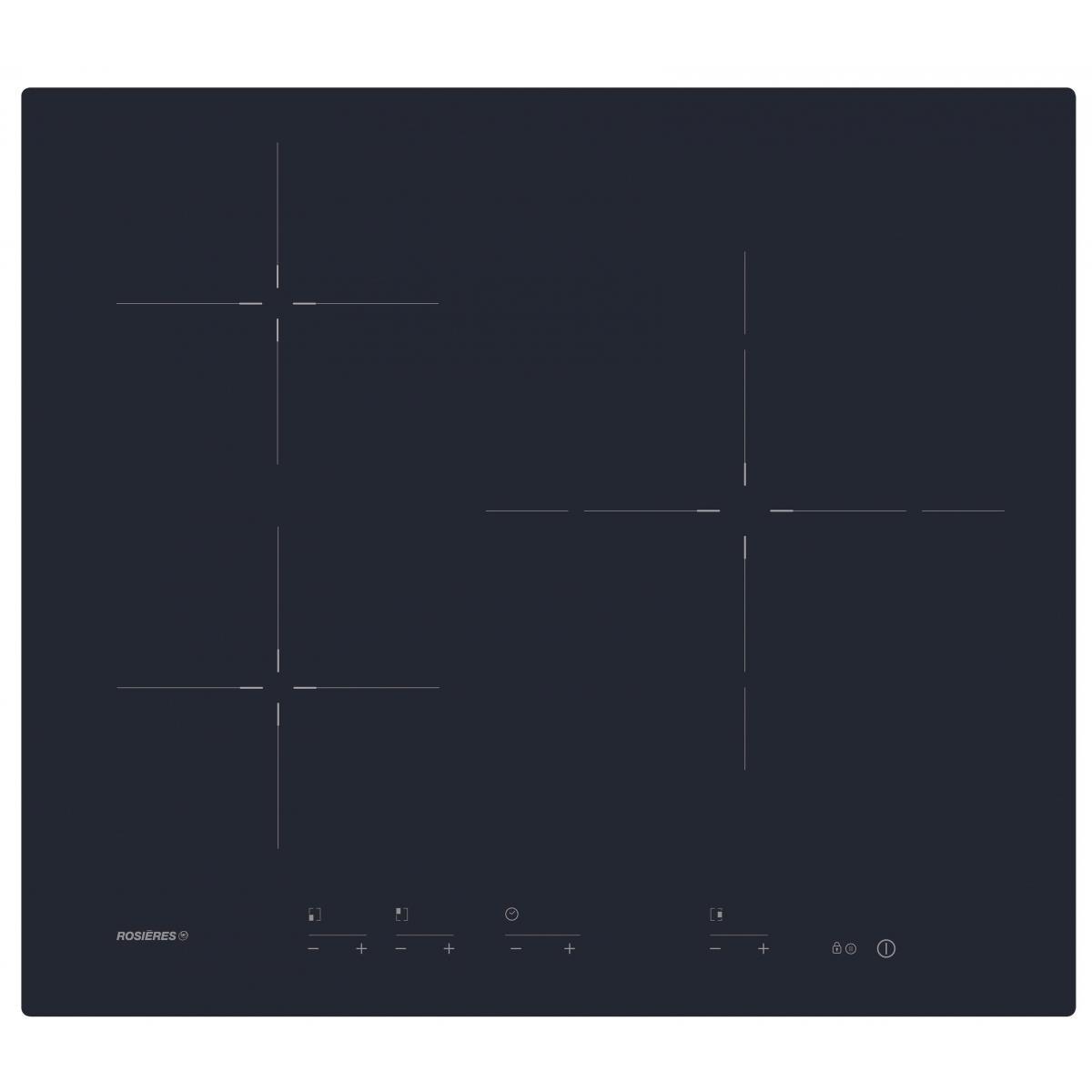 Rosieres Plaque induction ROSIèRES 60cm, RID 633 DC