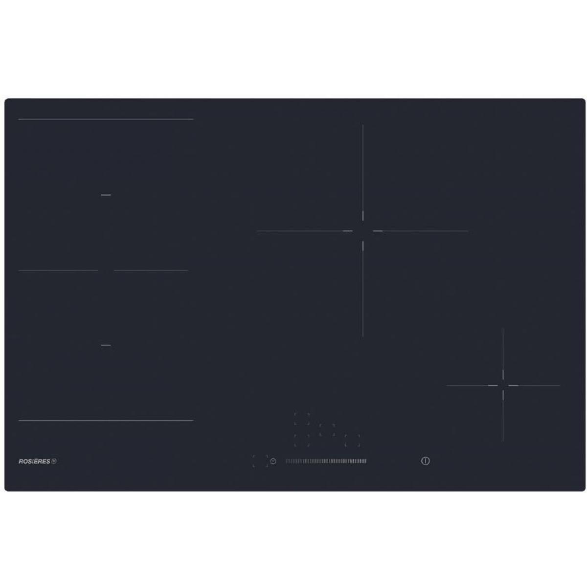 Rosieres Plaque induction ROSIèRES 7400W 77cm, RIES 844 SC