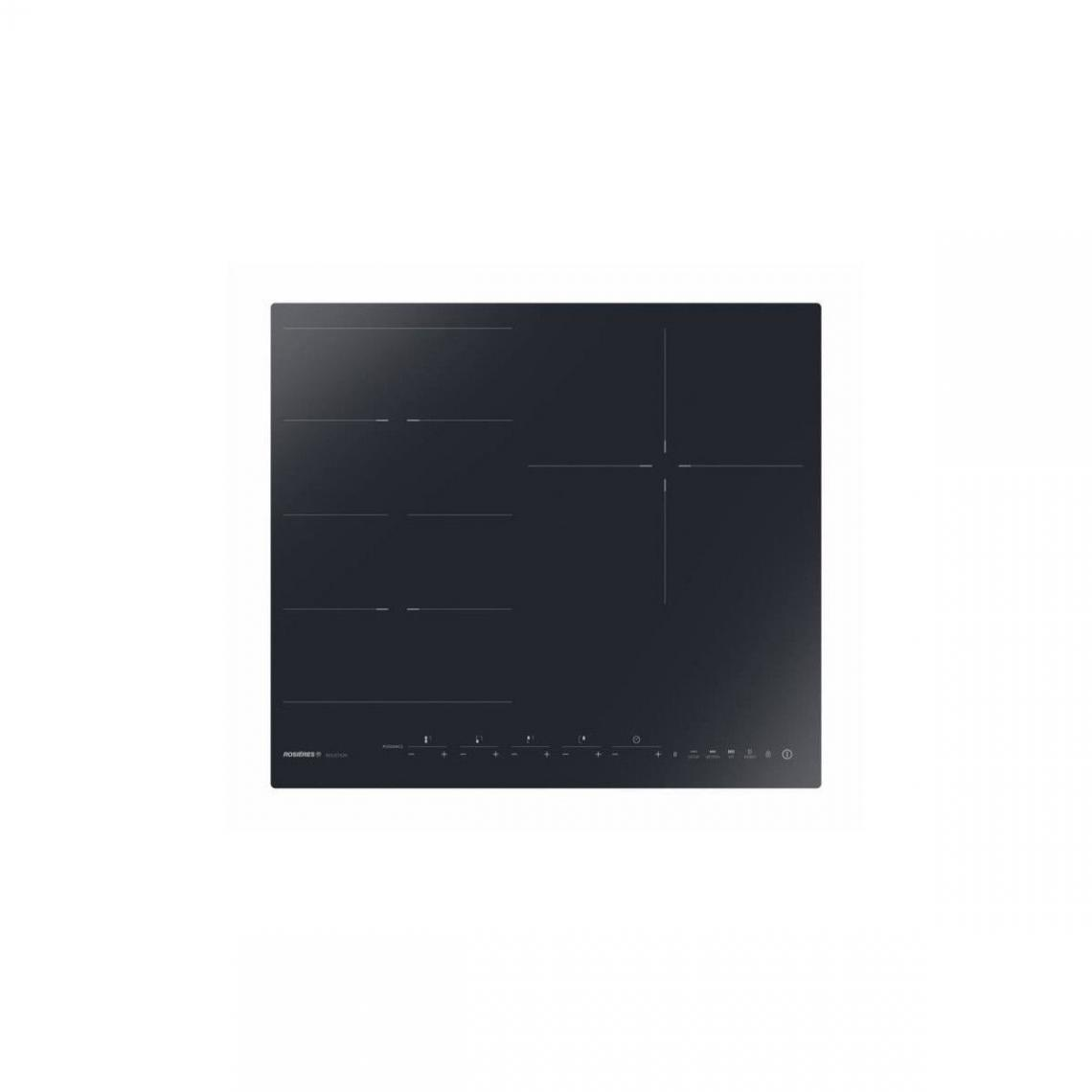 Rosieres Rosieres - Ried340b1c - Table Induction - 3 Foyers - L60cm - Flex + 1 - Noir