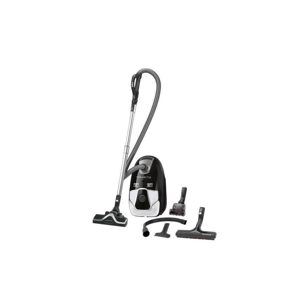 Rowenta Aspirateur avec sac X-trem Power CAR PRO - RO6887EA - Noir/Blanc