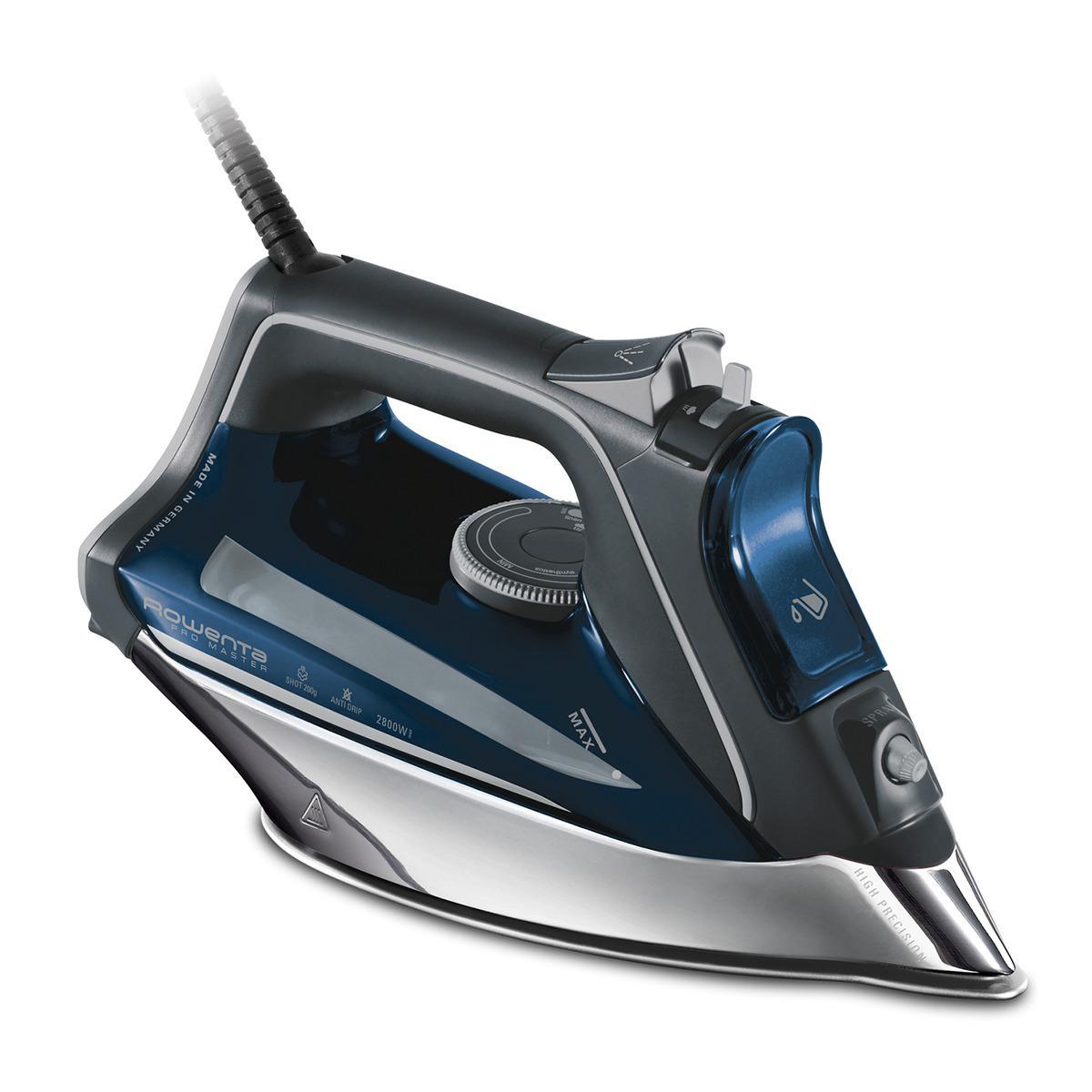 Rowenta Rowenta DW8221 Fer à repasser Pro Master 2800W Gris/Bleu