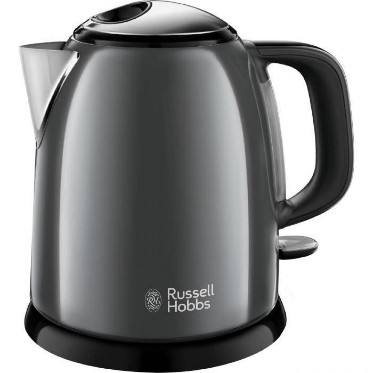 Russell Hobbs RUSSEL HOBBS 24993-70 - Bouilloire compacte Colours plus Grise 1 L