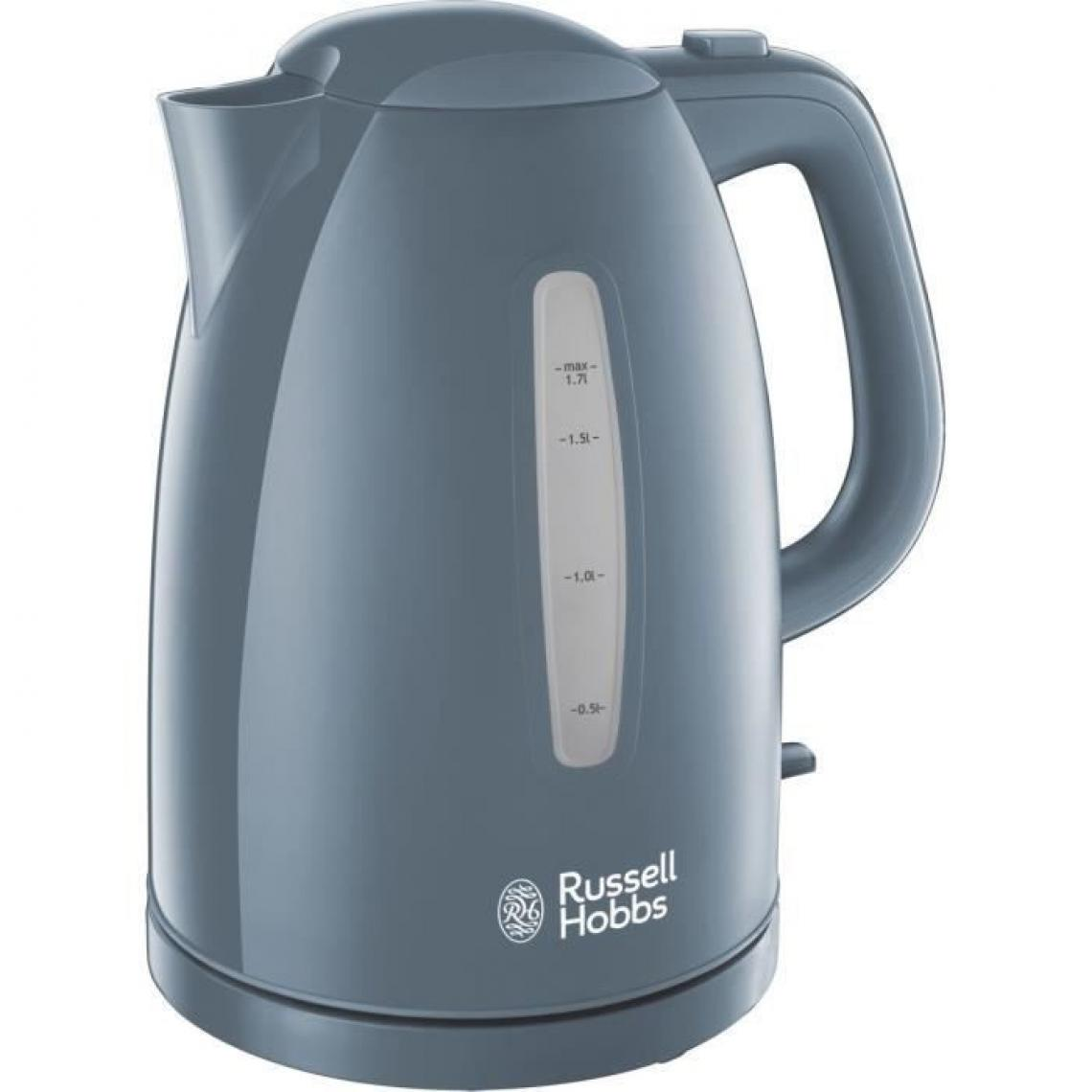 Russell Hobbs Russell Hobbs 21274-70 Bouilloire 1,7L Texture, Ebullition Ultra Rapide - Gris