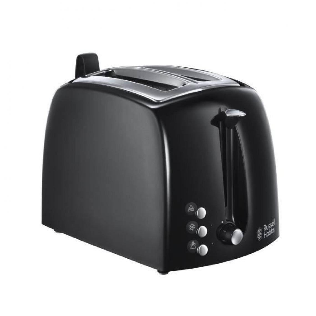 Russell Hobbs RUSSELL HOBBS 22601-56 - Toaster Textures Plus - 895 W - Noir