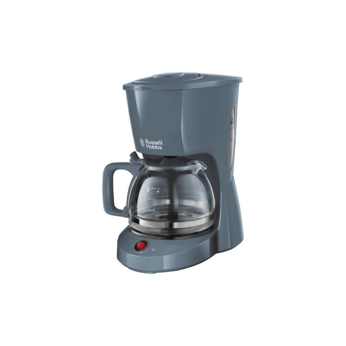 Russell Hobbs Russell Hobbs 22613-56 Machine A Cafe, Cafetiere Filtre 1,25l Texture, Grande Capacite - Gris