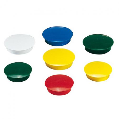 Safetool -Plots magnétiques Ø 32 mm couleurs assorties - Lot de 6 Safetool  - Safetool
