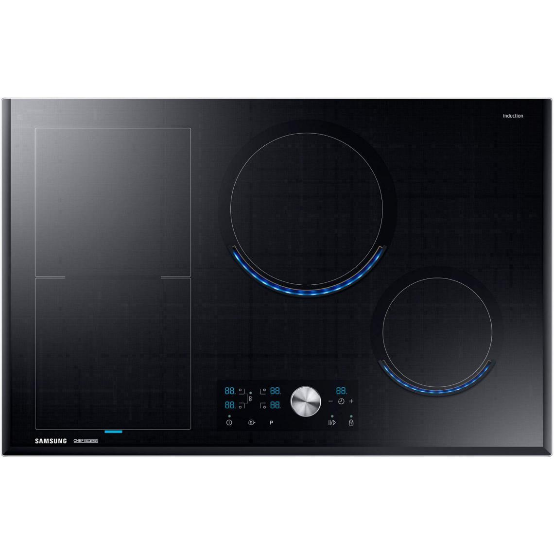 Samsung Plaque induction SAMSUNG 7000W 80cm, NZ 84 J 9770 EK