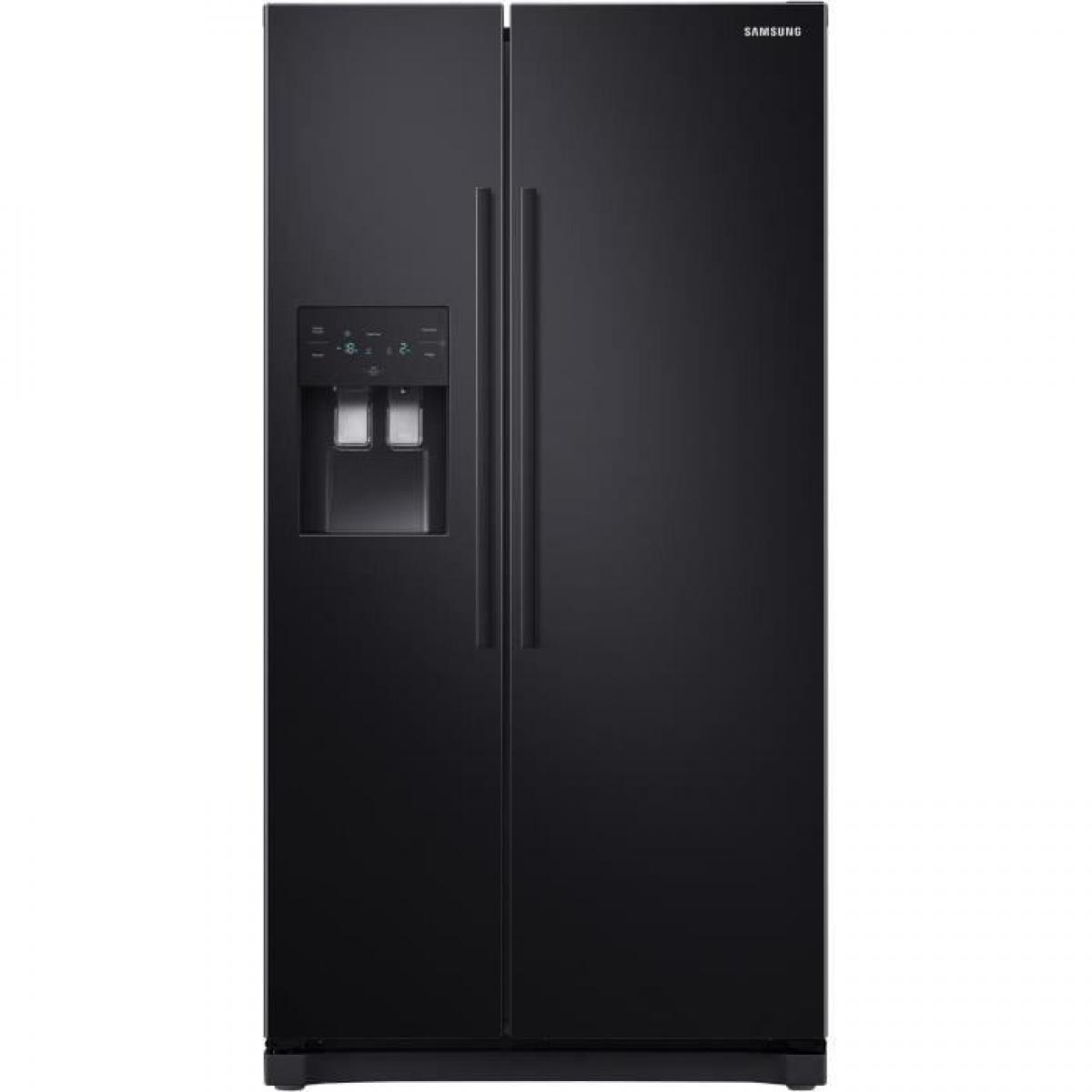 Samsung Réfrigérateur américain 501L Froid Ventilé SAMSUNG 91cm, SAMRS50N3503BC