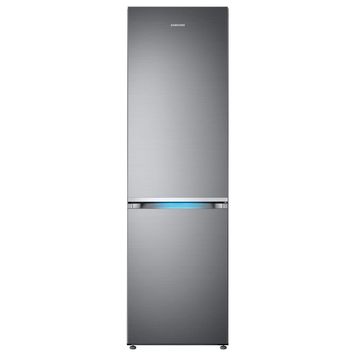 Samsung Réfrigérateur Combiné 357l Froid Ventilé Samsung 60cm A++, Rb 36 R 8717 S 9