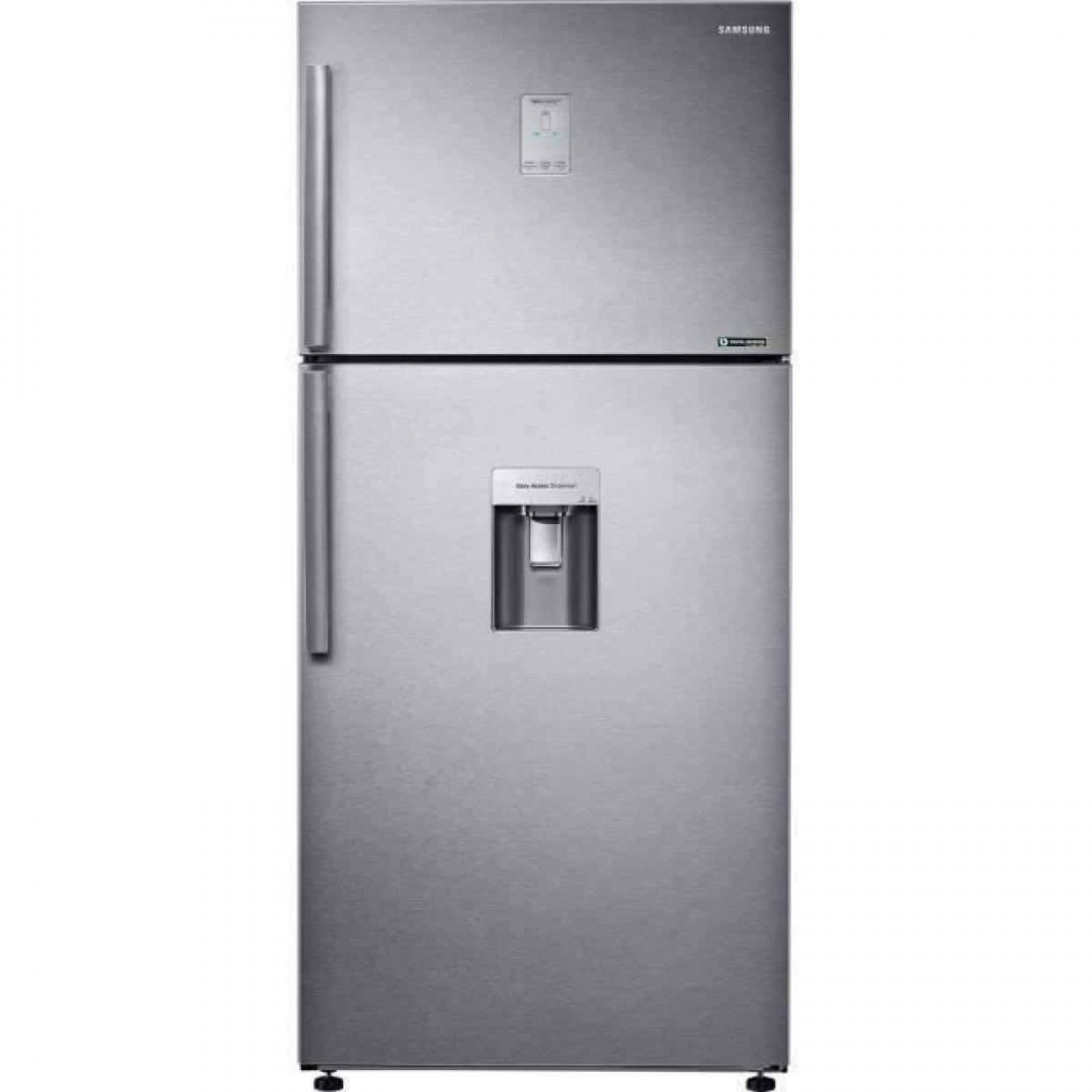 Samsung Samsung RT50K6510SL - Réfrigérateur double portes - 499L (374+125) - Froid ventilé intégral - Classe A+/F - 79x178.5cm -