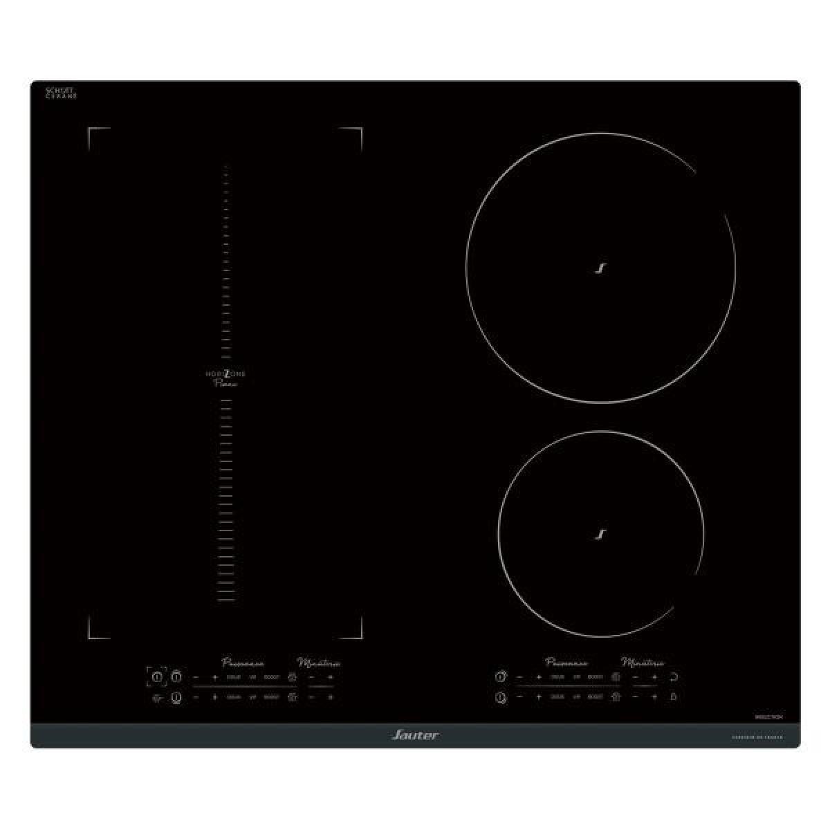 Sauter Plaque induction SAUTER 7400W, SPI9648BP