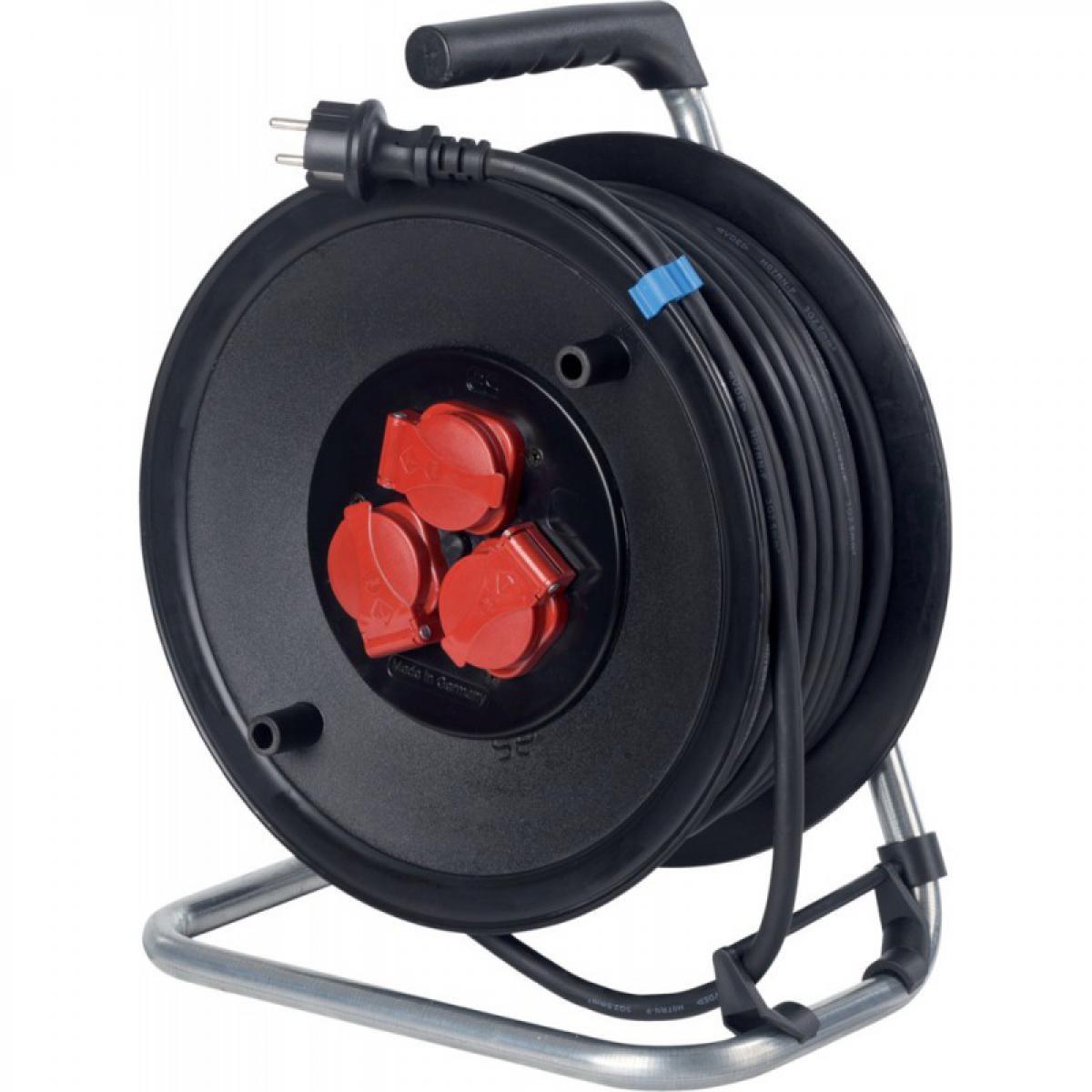 Schwabe Enrouleur de cable 230mm 25m H07RN-F3G1,5