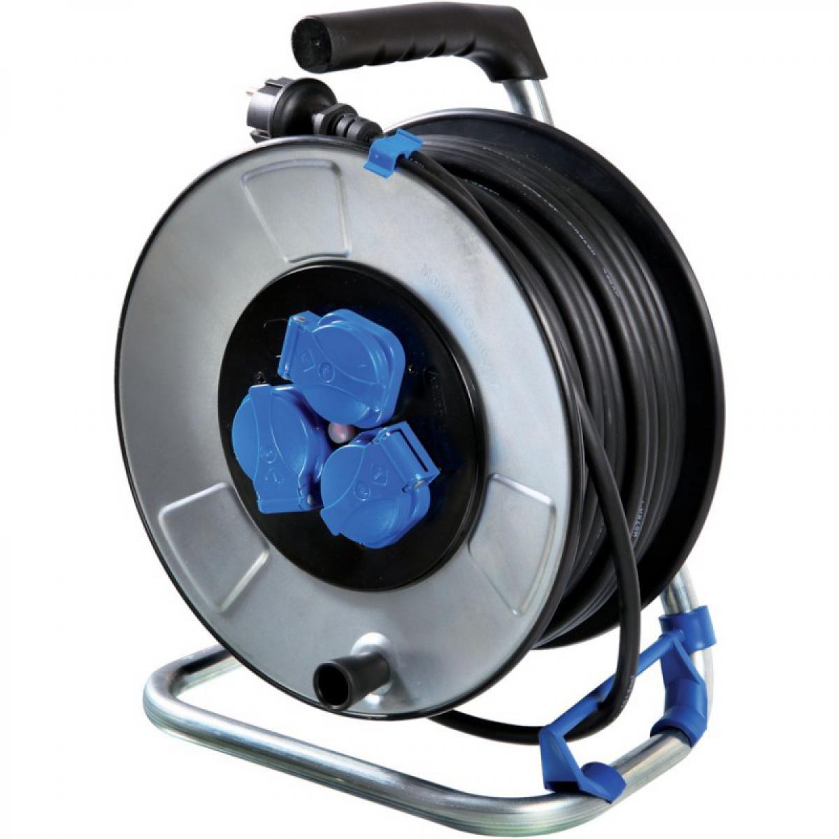 Schwabe Enrouleur de câble 25 m - HO7RN-F3G1,5