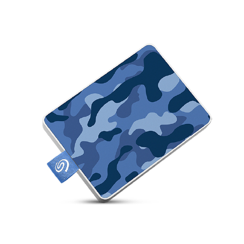Seagate - One Touch SSD 500Go Blue One Touch SSD 500Go Camo-Blue RTL - Disque SSD Seagate