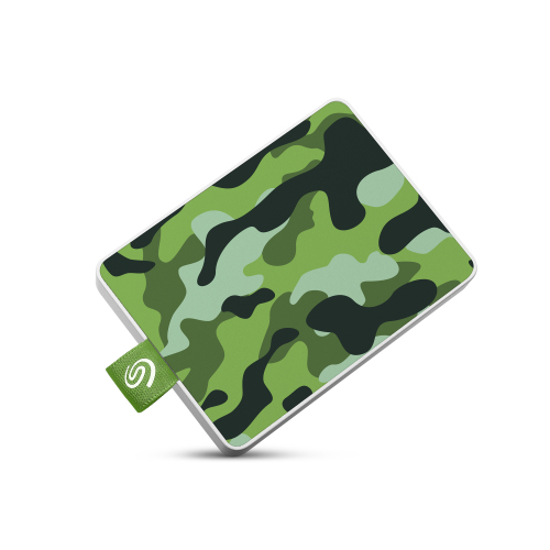 Seagate - One Touch SSD 500Go Grn One Touch SSD 500Go Camo-Green RTL - Disque SSD Seagate