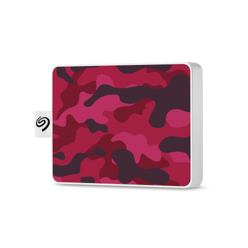 Seagate - One Touch SSD 500Go Red One Touch SSD 500Go Camo-Red RTL - Disque SSD Seagate