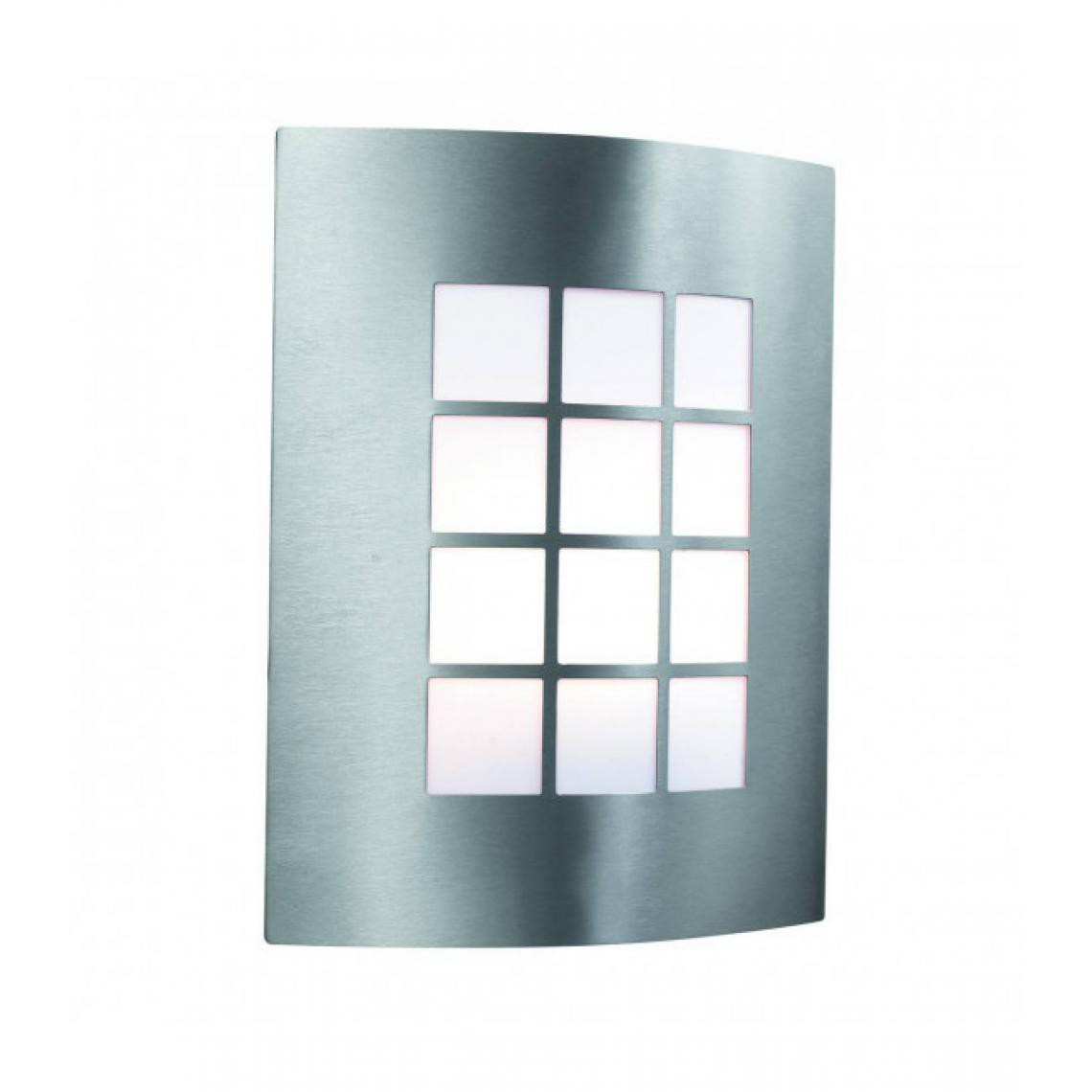Searchlight Applique 27 cm Outdoor Lights, en acier inoxydable et polycarbonate