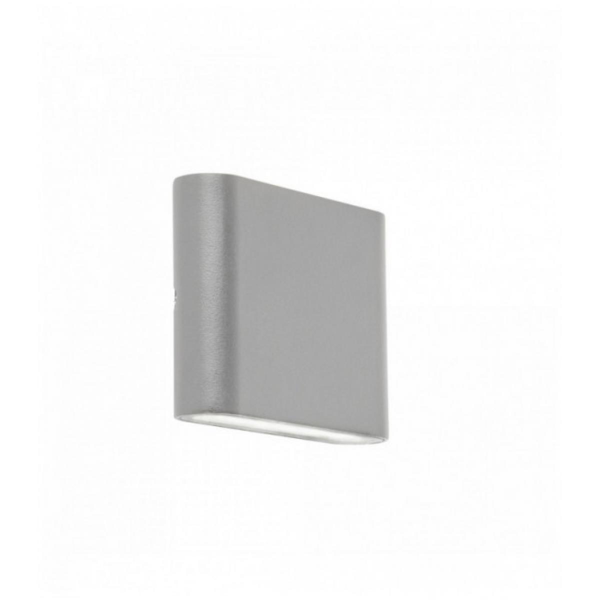 Searchlight Applique d'extérieur à led haut / bas - gris - diffuseur transparent