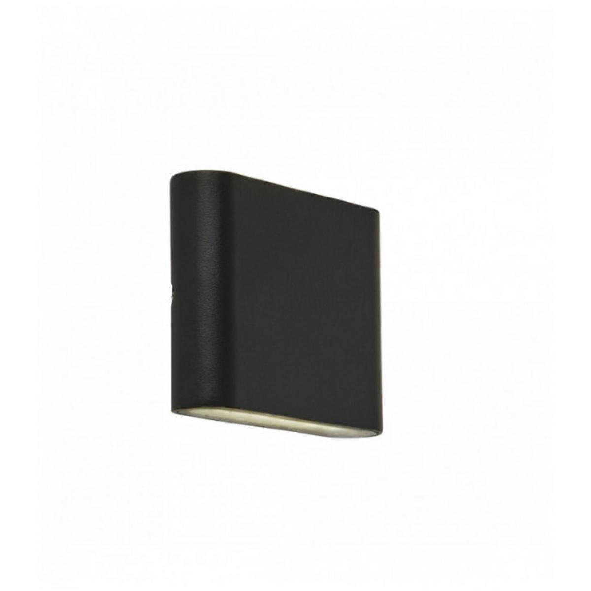 Searchlight Applique d'extérieur à led haut / bas - noir - diffuseur transparent