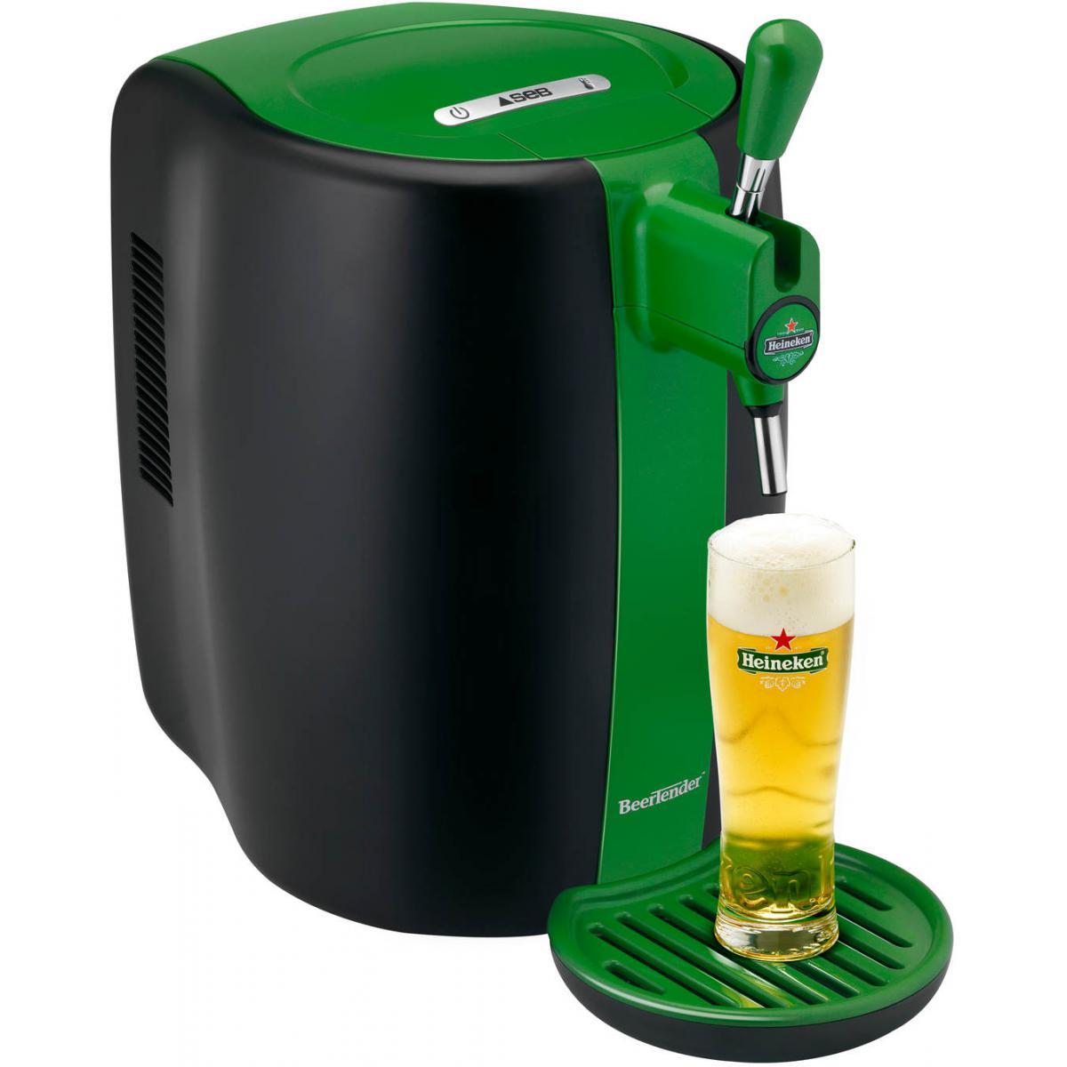 Seb Machine A Biere Beertender 5l 6varietes De Biere + 4 Verres Collector Seb - Yy4148fd