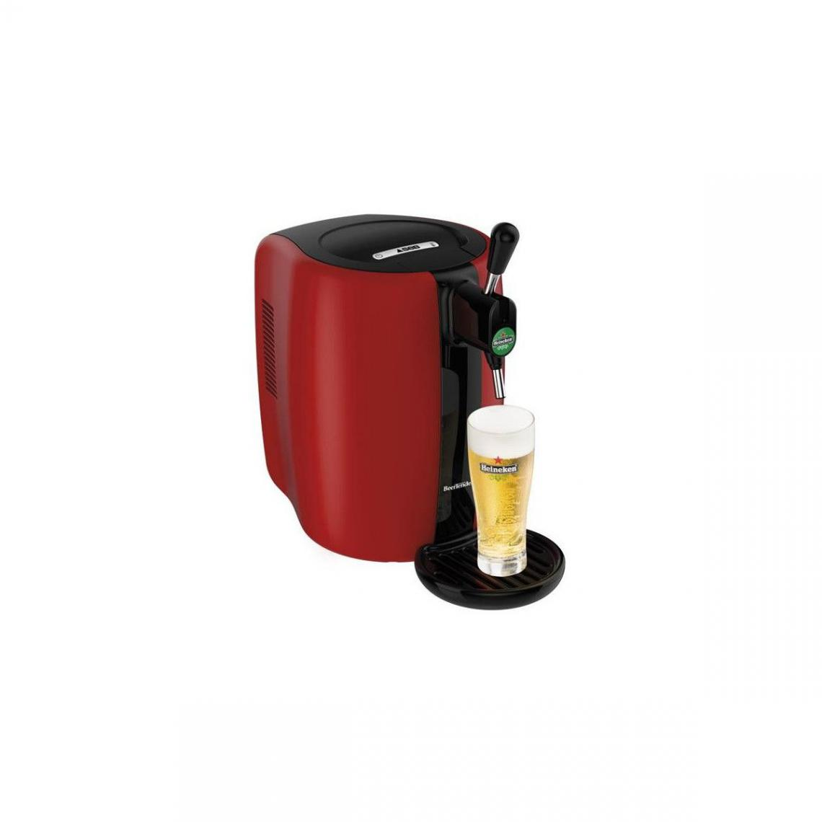 Seb Machine A Biere Beertender 5l 6varietes De Biere Rouge Seb - Vb310510