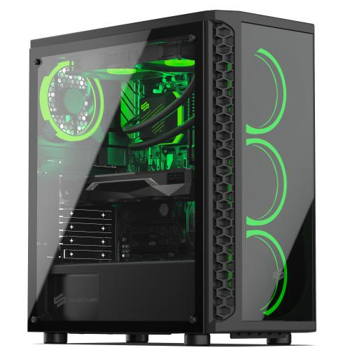 Sedatech - Sedatech PC Pro Gamer Watercooling, Intel i9-10850K, RTX 3070, 32Go RAM, 500Go SSD NVMe, 3To HDD, Win 10 - Ordinateur de Bureau Gaming