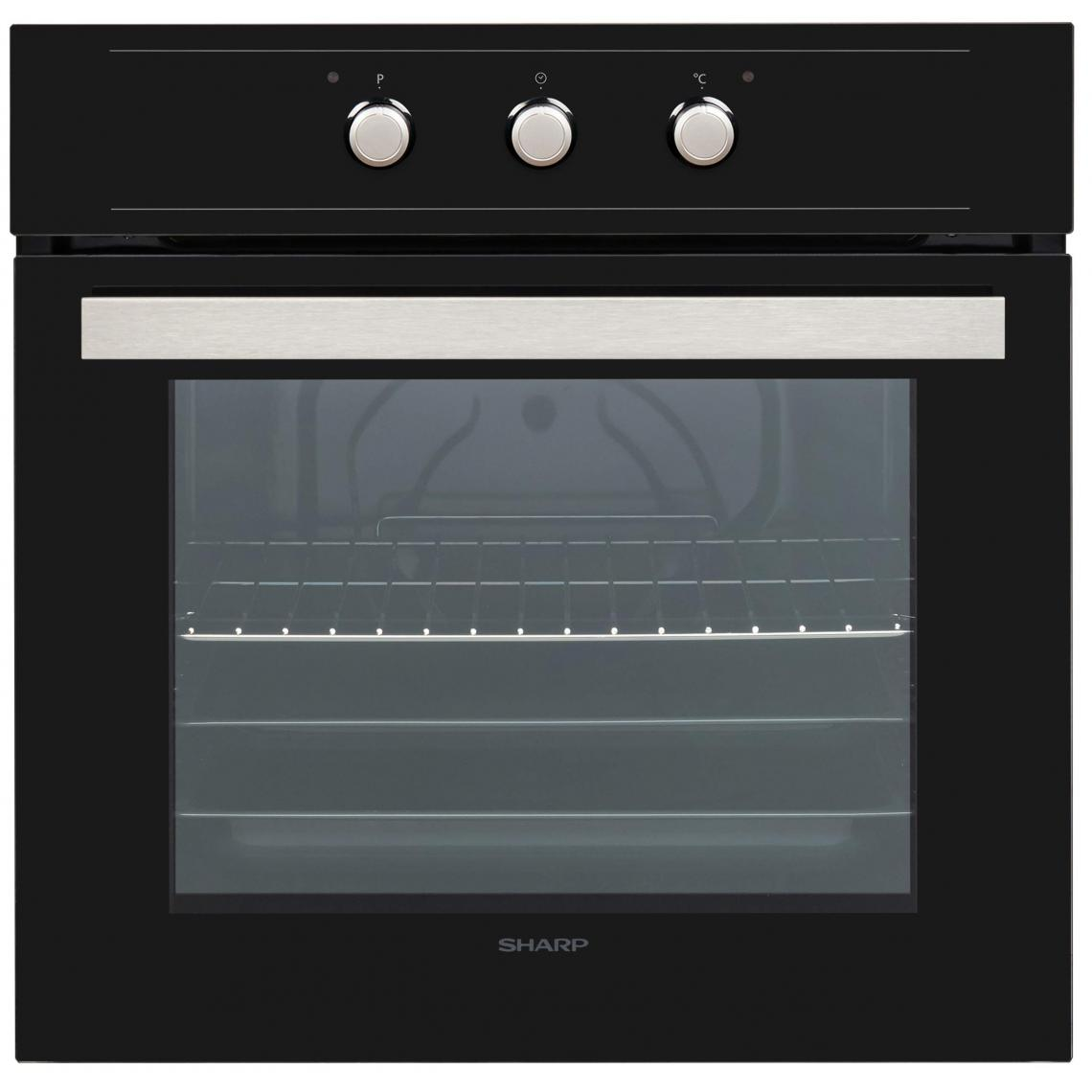 Sharp Four encastrable Convection naturelle 72L SHARP 3100W 60cm A, K 60 M 15 BL 2