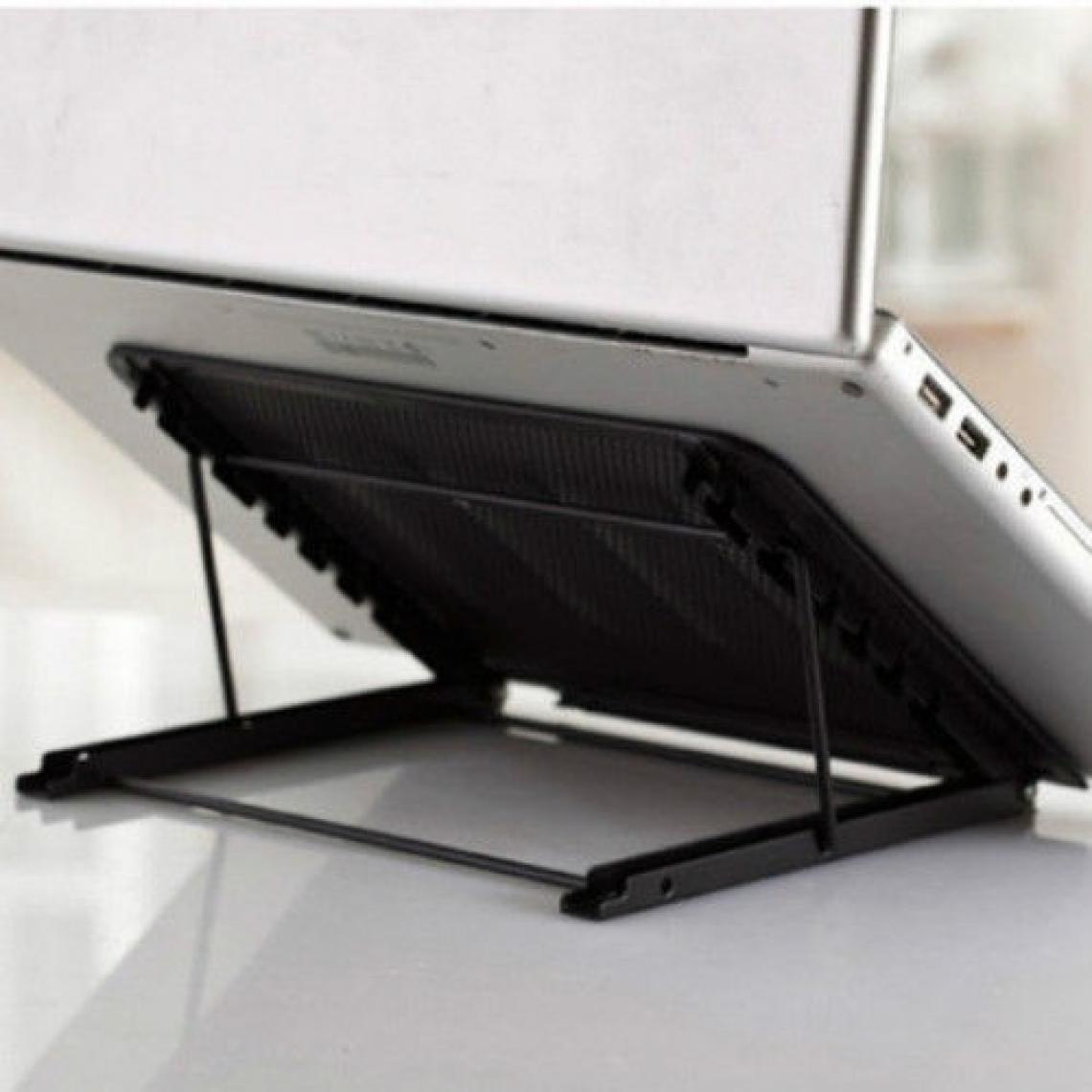 Shot Mini Support Metal pour PC DELL Reglable Transportable Ventilation (NOIR)