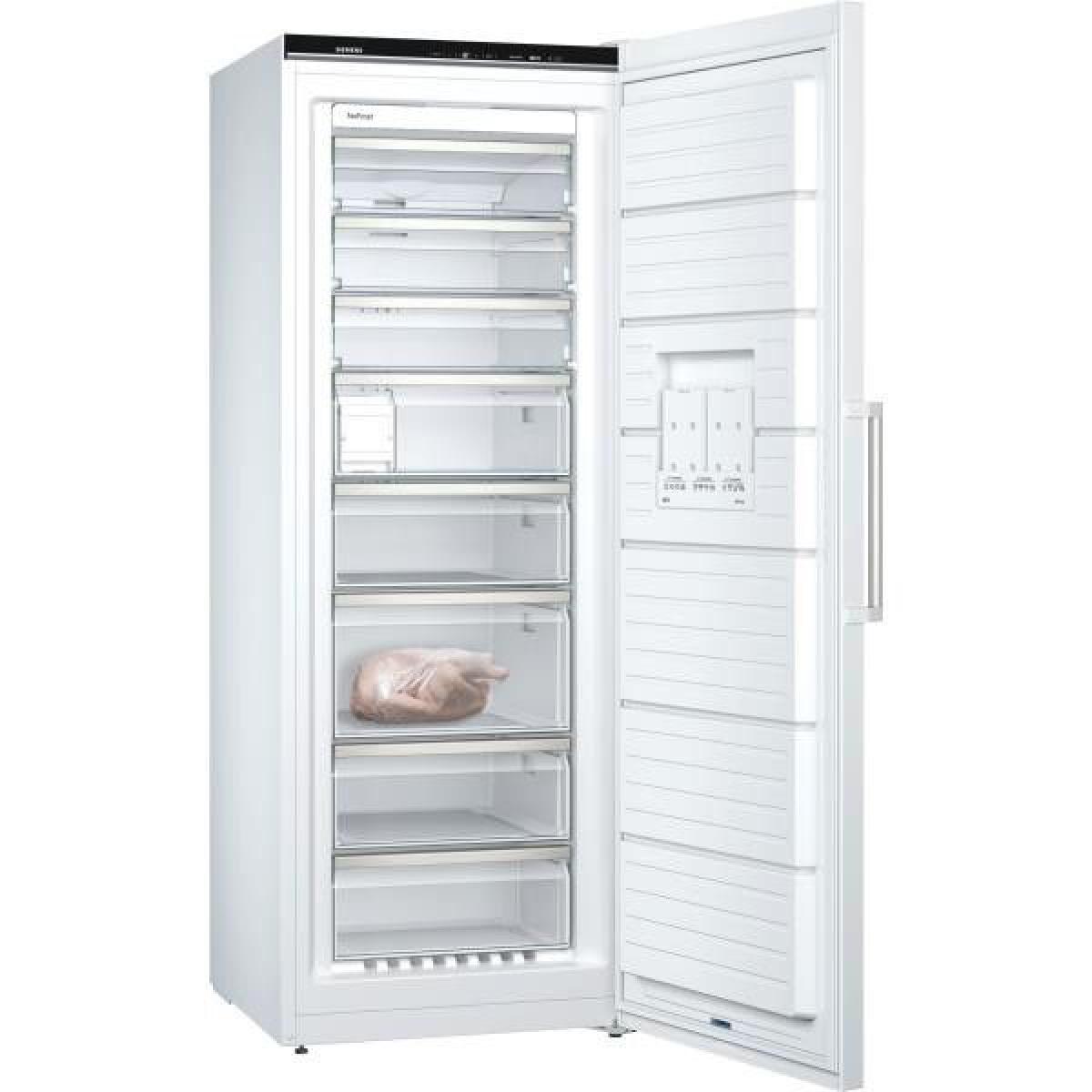 Siemens Congélateur armoire 350L Froid Ventilé SIEMENS 70cm A+++, GS58NAWDV