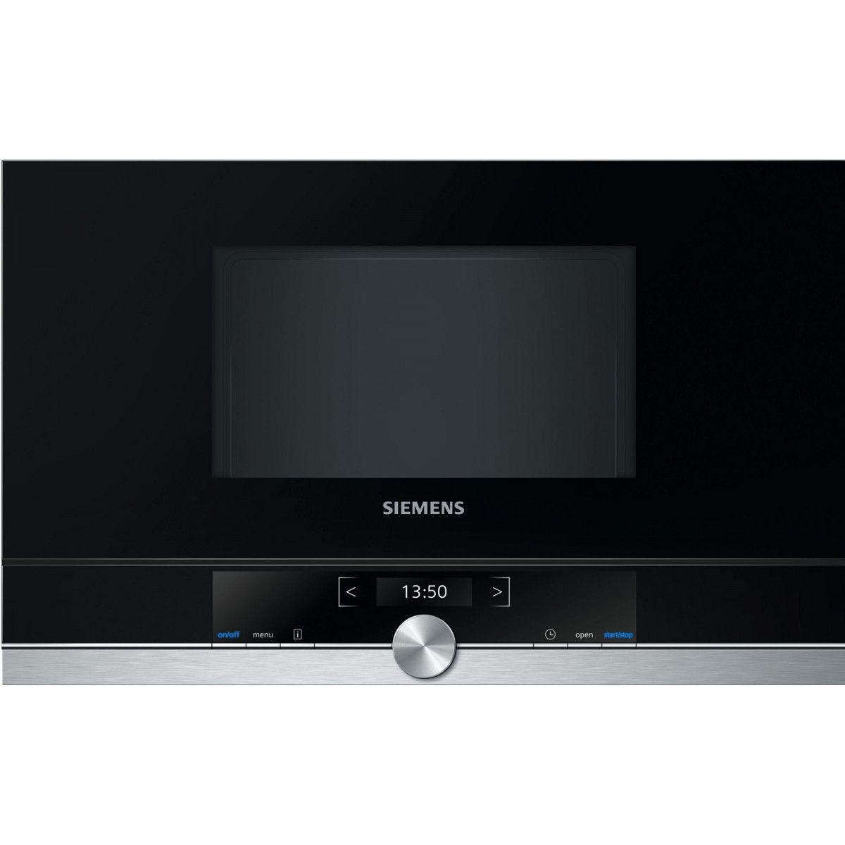 Siemens Micro-ondes Encastrable 21l Siemens 900w 59.4cm, Bf 634 Lgs 1