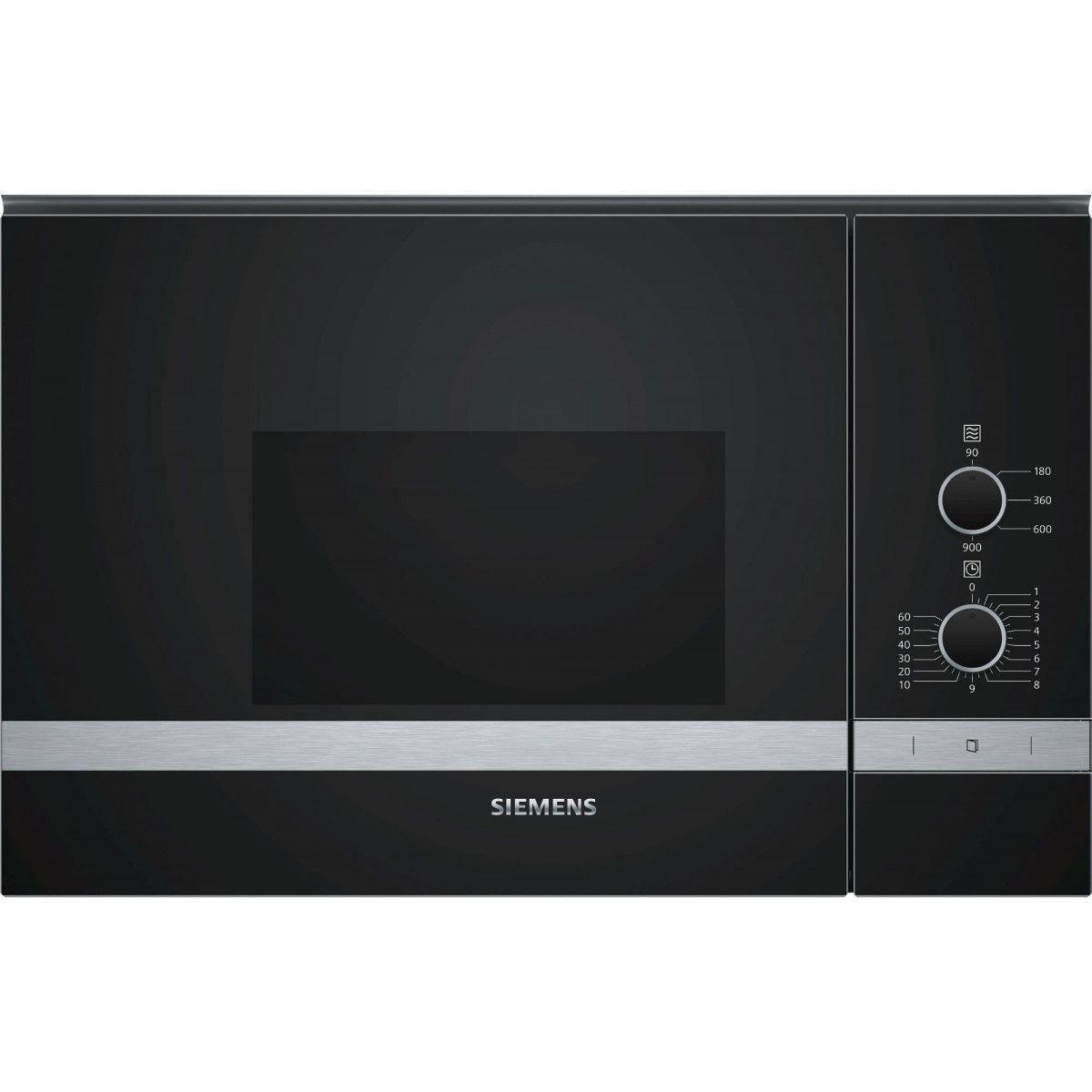 Siemens Micro-ondes Encastrable 25l Siemens 900w 59.4cm, Bf 550 Lmr 0