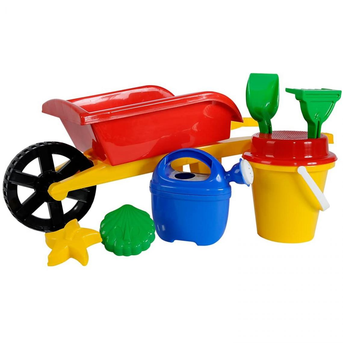 Simba Toys Simba Toys 107136235 - Brouette garnie en plastique 70cm