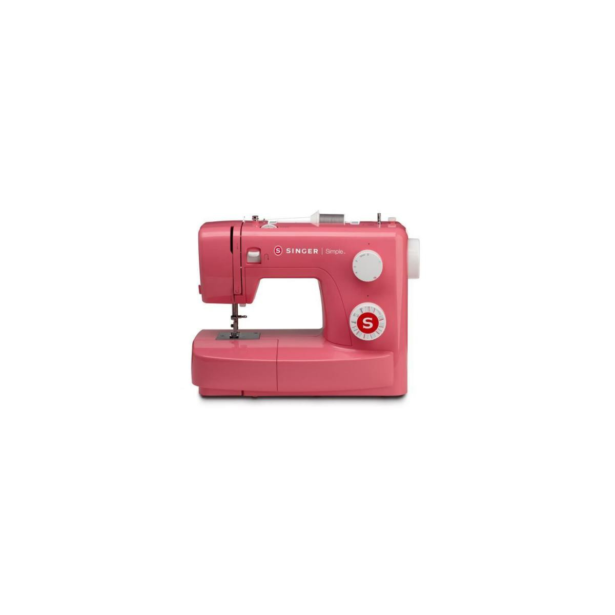 Singer SINGER 43218 Machine a coudre SIMPLE 3223 - 70W - 23 points - Rouge