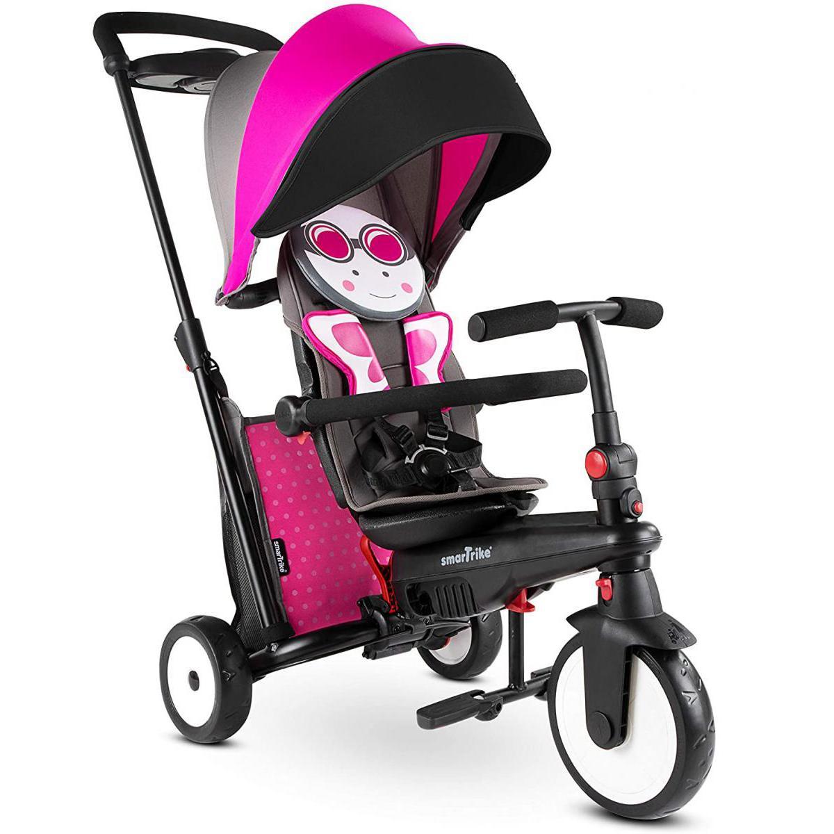 Smart Trike Smartrike Trike Evolutif Pliable STR5 noir/rose