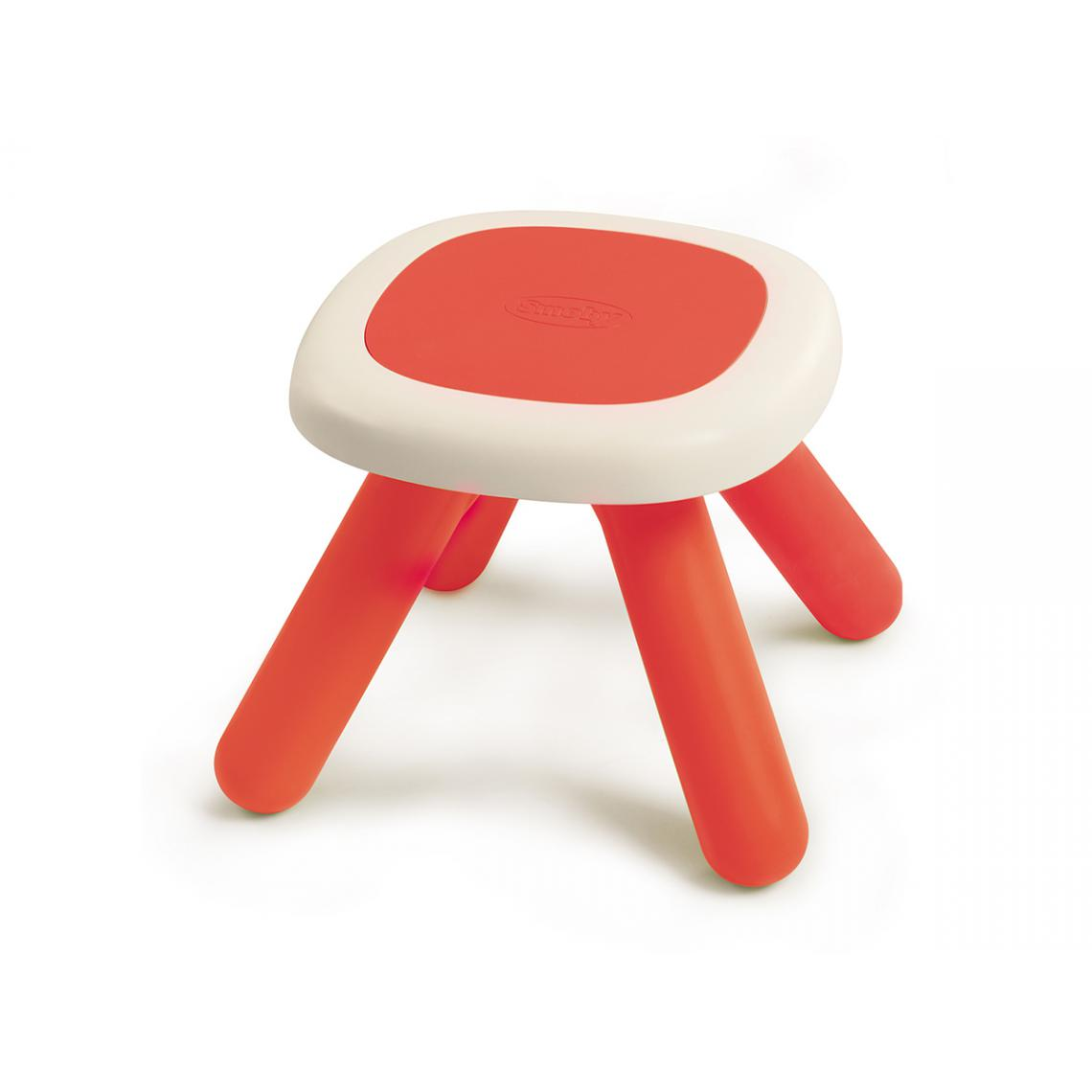 Smoby Tabouret Kid rouge
