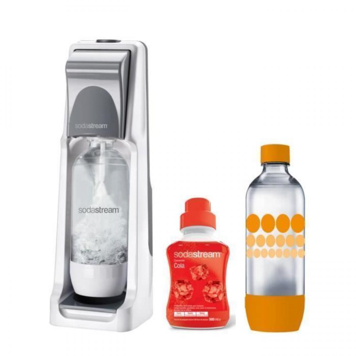 Sodastream SODASTREAM Pack : Machine a gazeifier Cool Titan + 1 concentre cola 500ml + 1 bouteille Grand modele Pet