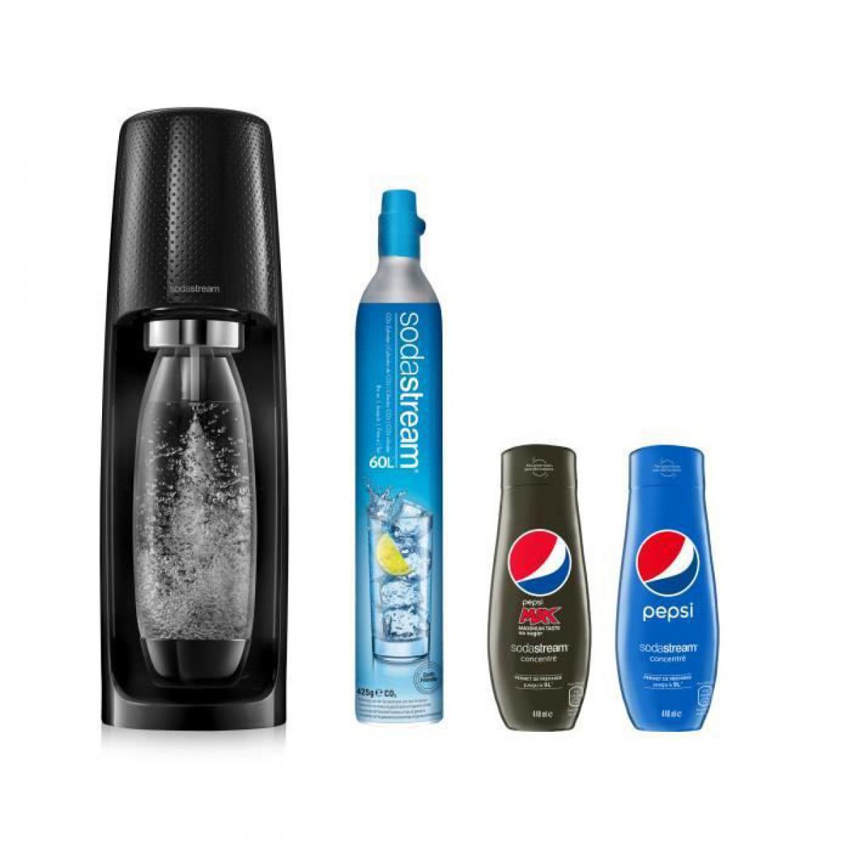 Sodastream SODASTREAM Sodastream Spirit Plus Concentrés Pepsi